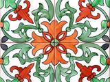 Spanish Tiles I Photographic Print by Jairo Rodriguez
