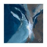 Blue Ocean Dance I Premium Giclee Print by Lanie Loreth