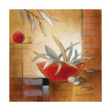 Afternoon Bamboo Leaves IV Premium Giclee Print by Lanie Loreth