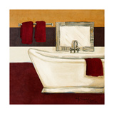 Sunday Bath in Red I Posters by  Hakimipour-ritter