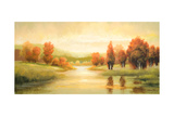 Natures Glow I Premium Giclee Print by Michael Marcon