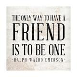 Friend Premium Giclee Print