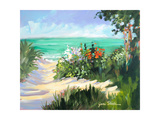 Sun Beach Dunes Giclee Print by Jane Slivka