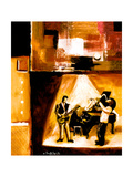 Musical Trio II Giclee Print by Everett Spruill