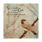 Give Thanks Premium Giclee Print by Elizabeth Medley