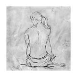Nude Sketch II Giclée-Premiumdruck von Patricia Quintero-Pinto