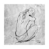 Nude Sketch I Giclée-Premiumdruck von Patricia Pinto