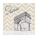Textile Paris Premium Giclee Print by Gina Ritter