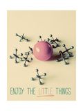 Enjoy the Little Things Premium Giclee Print by Gail Peck