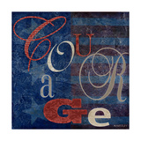 Courage Premium Giclee Print by  Kingsley