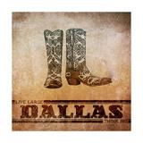 Dallas - Birinci Sınıf Giclee Baskı