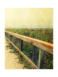 Beach Rails II Premium Giclee Print by Lisa Hill Saghini