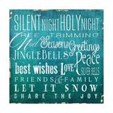 Holiday Type I Premium Giclee Print by Elizabeth Medley