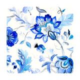 Capri Floral II Premium Giclee Print by Lanie Loreth