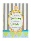 Journey Within Premium Giclee Print by Andi Metz
