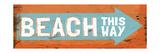 Beach This Way Premium Giclee Print by Elizabeth Medley