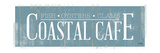 Coastal Cafe Premium Giclee Print by Elizabeth Medley