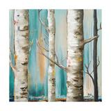 Birch Forest I Premium Giclee Print by Patricia Quintero-Pinto