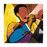 Nola Band I Giclee Print by Everett Spruill