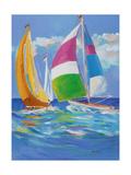 Full Sail II Premium Giclee Print by Jane Slivka
