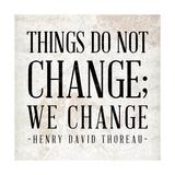 Change Premium Giclee Print