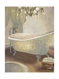 Guest Bathroom II Poster by Elizabeth Medley