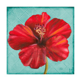 Joyful Hibiscus Giclee Print by Patricia Pinto