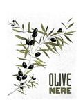 Olive Nere Prints by Linda Baliko