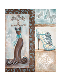Dress Shop I Premium Giclee Print by Gina Ritter