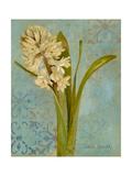 Hyacinth on Teal I Premium Giclee Print by Lanie Loreth