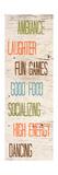 Social I Premium Giclee Print