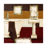 Sunday Bath in Red II Prints by  Hakimipour-ritter