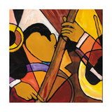 Nola Band II Giclee Print by Everett Spruill