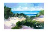 Dune Shoreside Premium Giclee Print by Jane Slivka