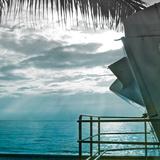 On a Teal Beach II Photographic Print by Jairo Rodriguez