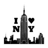 I Heart NY Premium Giclee Print by Emily Navas