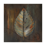New Leaf VI (Brown) Giclee Print by Patricia Pinto