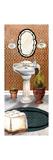 Bath in Teal II Premium Giclée-tryk af Elizabeth Medley