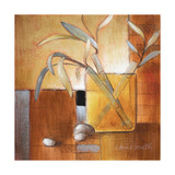Afternoon Bamboo Leaves III Premium Giclee Print by Lanie Loreth