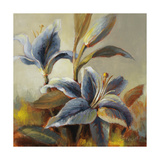 Lilies after the Rain Premium Giclee Print by Lanie Loreth