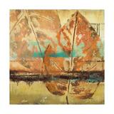 Rain Leaves II Premium Giclee Print by Patricia Quintero-Pinto