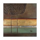 Gold Forest I Giclée-Premiumdruck von Patricia Quintero-Pinto