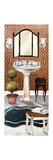 Bath in Teal I Premium Giclée-tryk af Elizabeth Medley