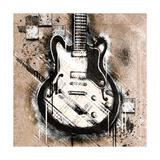 Garage Rock I Giclee Print by Tiffany Hakimipour