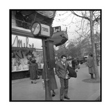 Claude Nougaro in Paris Photographic Print by  DR