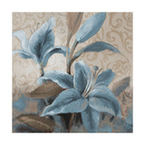 Soft Blue Blooms II Posters by Lanie Loreth
