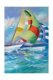Full Sail I Premium Giclee Print by Jane Slivka