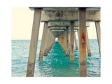 Juno Pier Premium Giclee Print by Lisa Hill Saghini