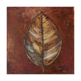 New Leaf IV (Russet) Giclee Print by Patricia Pinto