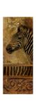 Elegant Safari V (Zebra) Premium Giclee Print by Patricia Quintero-Pinto